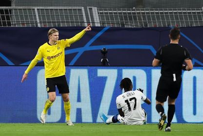 3-0. Haaland y Sancho ponen al Dortmund casi en octavos