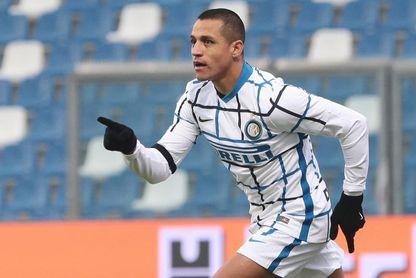 Alexis Sánchez espabila al Inter, que se consuela ante el Sassuolo