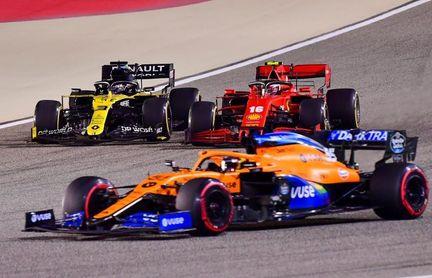 """Sainz: """"Aunque igual pude acabar cuarto, estoy contento con otra remontada"""""""