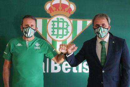 Joan Plaza, nuevo entrenador del Betis.