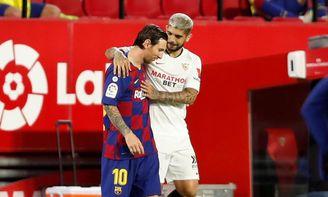 Banega y Messi, candidatos a entrar en el mejor once de 2020.