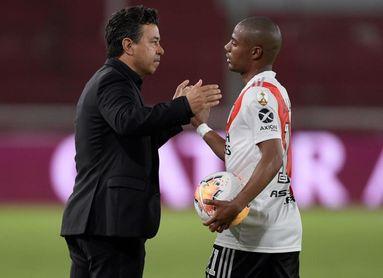 1-0. River elimina a Paranaense y pasa a cuartos con un gol de De la Cruz