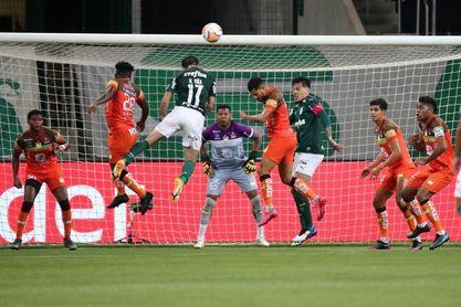 5-0. El Palmeiras aplasta al Delfín ecuatoriano y se inscribe en los cuartos