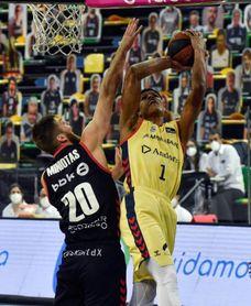 76-85. Senglin doblega a un Bilbao Basket sin Balvin