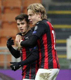 Golazo de Brahim para el Milan