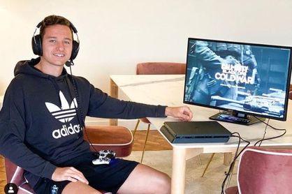 Imagen del jugador del Marsella Florian Thauvin en una de sus cunetas en las redes sociales.
