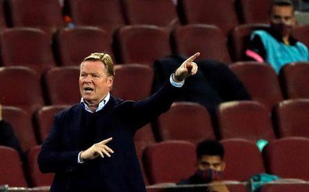 """Koeman: """"Nos ha marcado goles que no podemos encajar""""."""