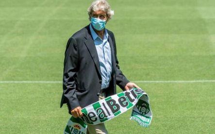 El entrenador del Real Betis, Manuel Pellegrini.
