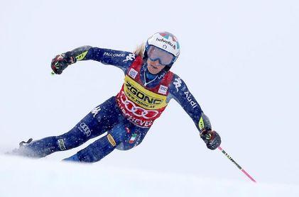 Bassino ganó en Courchevel, Vlhova sigue líder y Shiffrin acabó cuarta