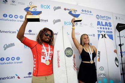 EE.UU. y Costa Rica se imponen en el Latinoamericano de surf en El Salvador