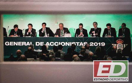 Junta del 21-D: el Betis avisa, sólo quedan plazas para 60 accionistas