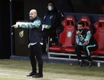 Paco López cumplirá cien partidos en Primera división ante la Real Sociedad