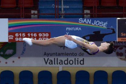 Robert Vilasarau y Noemí Romero, campeones de España de Trampolín