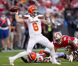 6-20. Mayfield acerca a los Browns a la postemporada