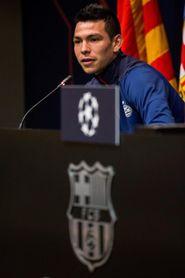 Lozano sufre un fuerte trauma en tobillo izquierdo, pero no tiene fracturas