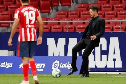 """Para Simeone, la Liga """"no"""" es cosa de dos"""