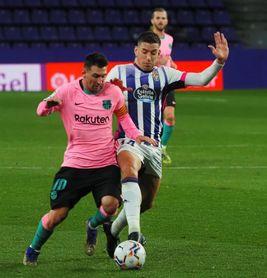 0-3: El Barça recupera el brillo en el José Zorrilla