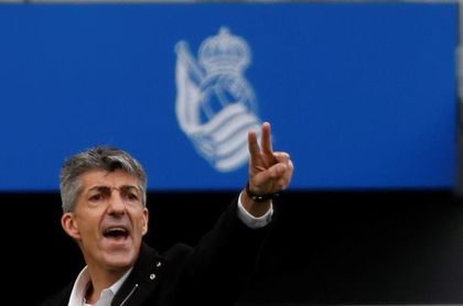 La Real renueva a Imanol Alguacil hasta 2023 y a Roberto Olabe hasta 2024