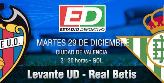 Levante UD-Real Betis: Poca broma