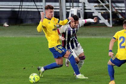 0-0. Cádiz y Valladolid, empate suficiente