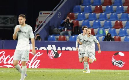 Levante-Real Betis (4-3): Canales maquilla el enésimo despropósito antes del derbi