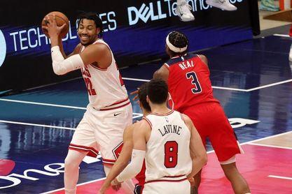 Los Rockets despiden el año con sobresaliente para Wall y Harden