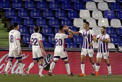 0-1. Weissman da aire al Valladolid y mete en un lío al Getafe