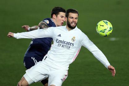 Nacho cubre la ausencia de Ramos; Hazard se mantiene suplente