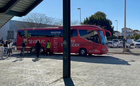 (VÍDEO) Así ha sido la llegada de Betis y Sevilla al estadio Benito Villamarín