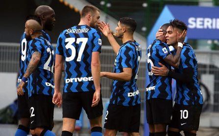 Lautaro Martínez dispara al Inter