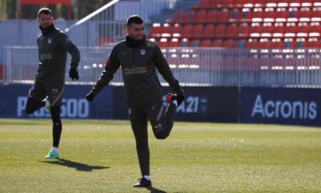 El Atlético viaja a Cornellá sin Luis Suárez, Koke, Oblak ni Llorente