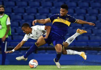 0-0. Boca y Santos empatan sin goles y definirán la serie en Vila Belmiro