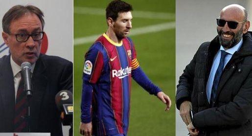 El precandidato que quiere a Monchi, ve a Messi fuera del Barcelona