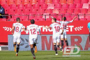 En-Nesyri reinó en la locura del Sevilla FC-Real Sociedad.