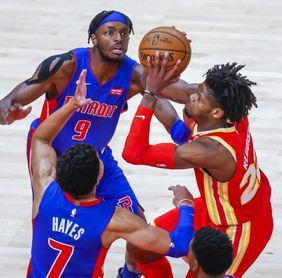 110-105. Grant logra doble-doble en victoria de los Pistons