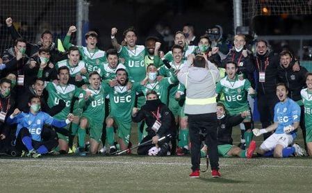 El pasado bético y sevillista del Cornellá, el 'matagigantes' de la Copa del Rey.