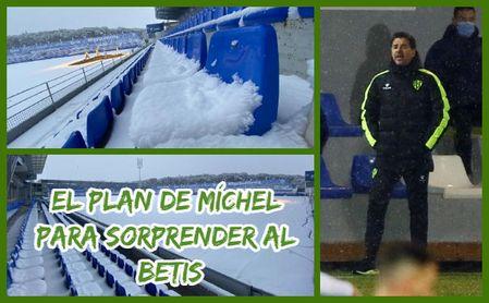 El plan de Míchel para sorprender al Betis.