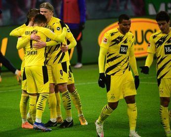 Sancho y Haaland firman la victoria del Dortmund ante el Leipzig