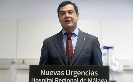 Moreno limitará la movilidad en Andalucía y pide al Gobierno un confinamiento total en España.
