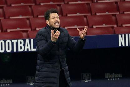 """Simeone: """"Seguimos con la misma energía que el primer día"""""""