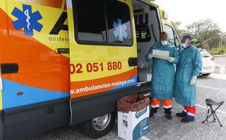 Andalucía registra 5.723 casos y 29 muertes; la tasa sube hasta 405.