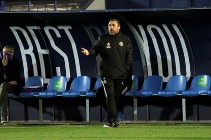"""Sergio González, centrado en Copa, pero mirando """"de reojo"""" a Elche y Levante"""