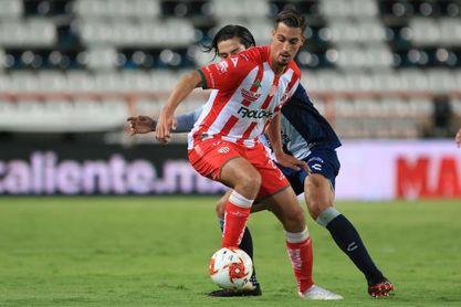 1-0. El español Ian González define la victoria del Necaxa sobre el San Luis