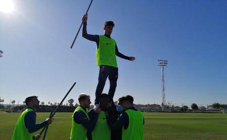 El 'pichichi' de Segunda B milita en el Sevilla FC.