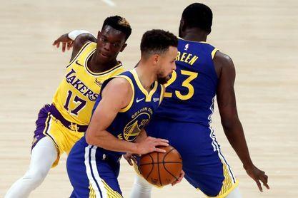 113-115: Curry se impone a James y los Warriors sorprenden a los Lakers.