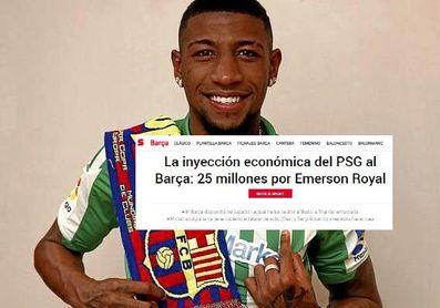 Barcelona y PSG cifran la 'operación Emerson' en 25 millones; el Betis saca la calculadora