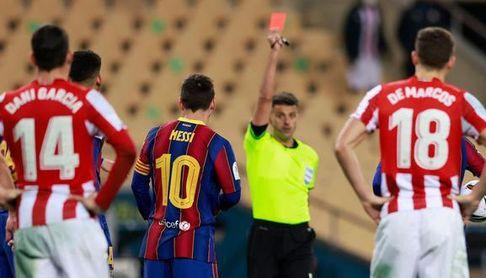 Dos partidos de sanción a Messi, que sí estará ante el Betis.