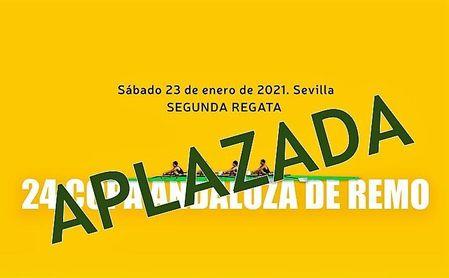 El calendario de la Federación Andaluza de Remo, condicionado por la pandemia, aplaza sus dos primeras regatas