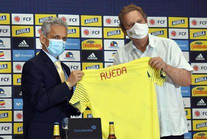 """Rueda buscará una selección Colombia de fútbol """"cohesionada"""" y espera cumplir las expectativas"""
