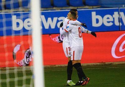 En-Nesyri marcó en Mendizorroza su noveno gol en LaLiga 20/21.